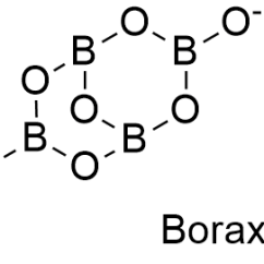 Borax Crystal Diagram Ford 8n Wiring Side Mount Formula Occurrence Can Be Found In Dry Lake Deposits California Usa And Turkey Furthermore Those Lakes Also Provide Other Borate Minerals That