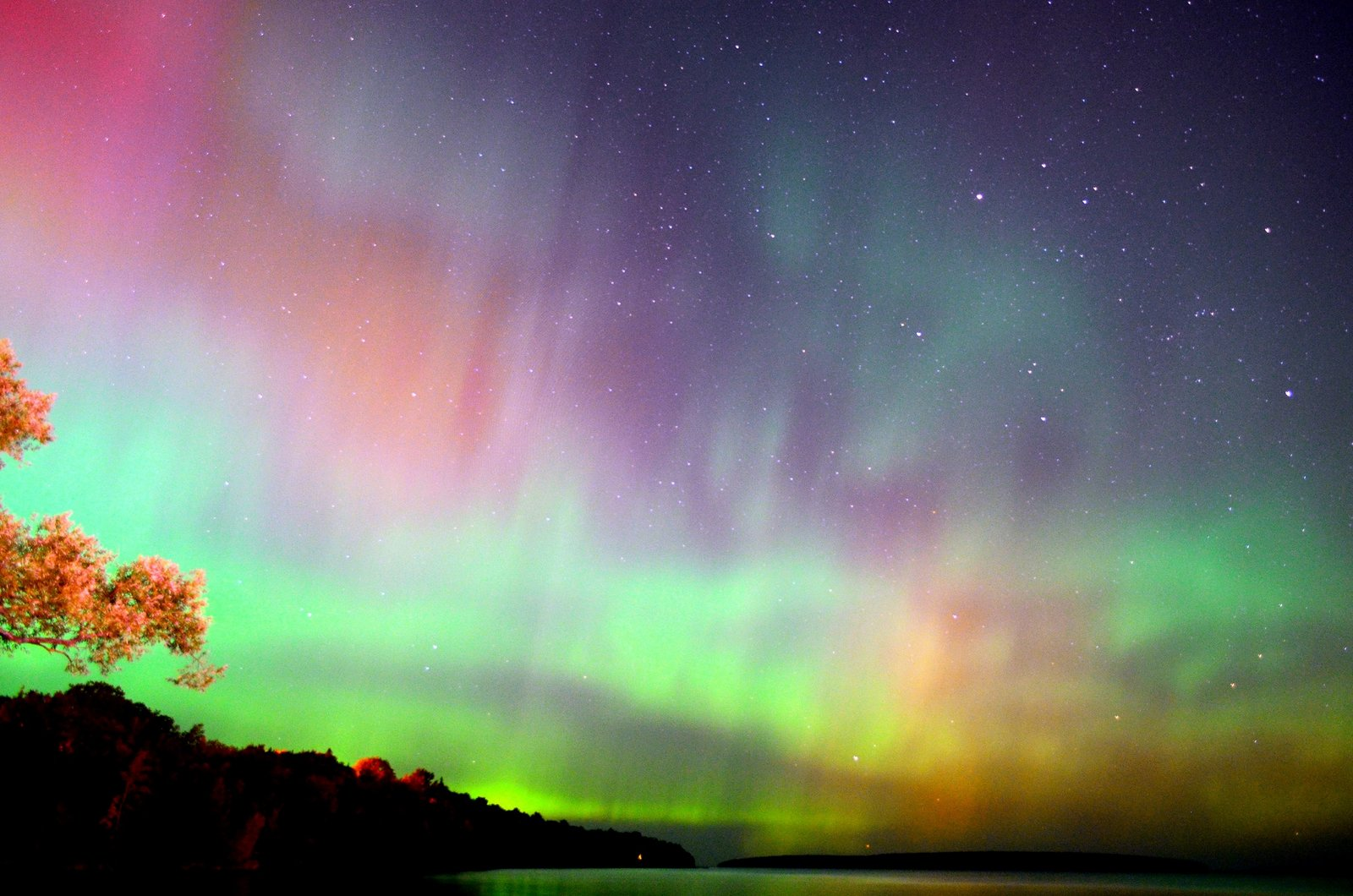 Northern Lights Marquette Mi