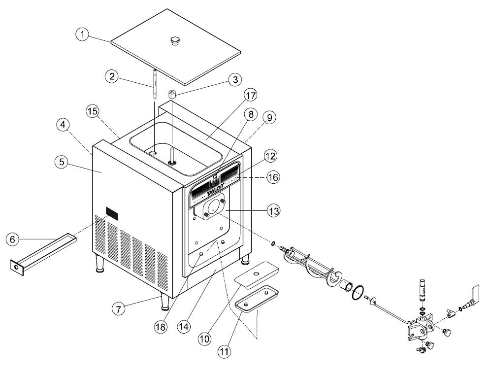Electrical Wire Diagram Freezer Europe
