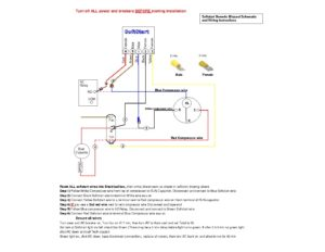 Dometic Blizzard AC Wiring Schematic and Insturctions