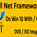 How To Install .Net Framework 3.5 Offline On Windows 10 With / Without CD / DVD /ISO / Bootable USB