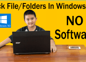 How To Hide Files / Folders In Windows 10 With Command Prompt Even File Explorer Options Can't Show