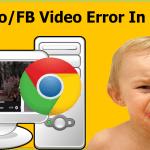 Fix Facebook Video Won't Play Chrome Facebook Video Not Play Facebook Video Chat Black Screen