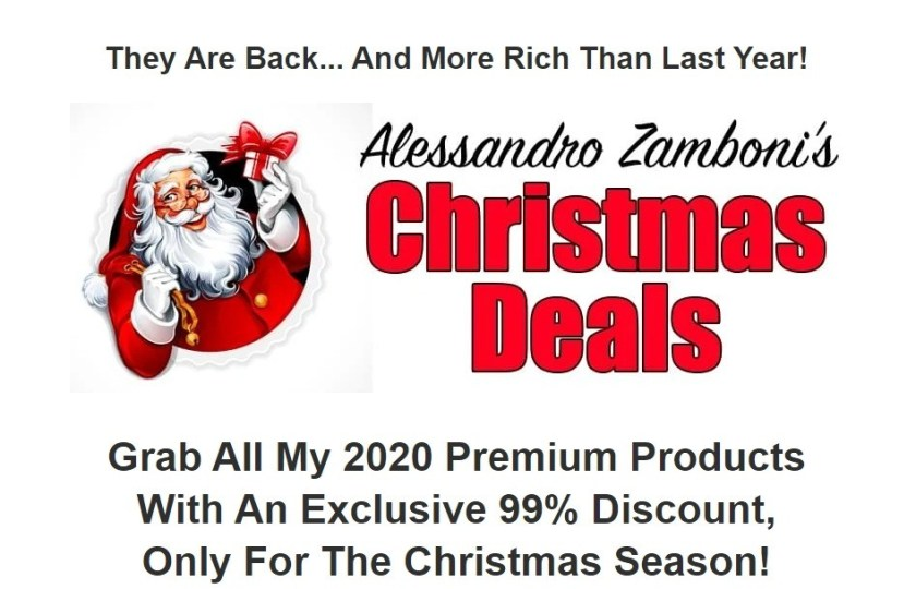 Christmas Deals 2020: This bundle will help you fast track your earnings in many niches,