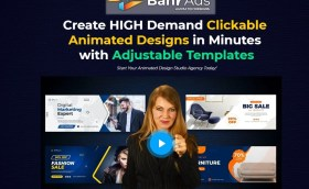 Create HIGH Demand Clickable Animated Designs in Minutes with Adjustable Templates