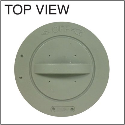 Softub Screw-On Filter (5000) Top