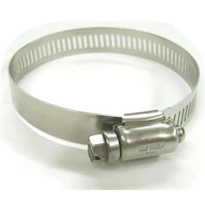 Large Stainless Steel External Hose Clamp