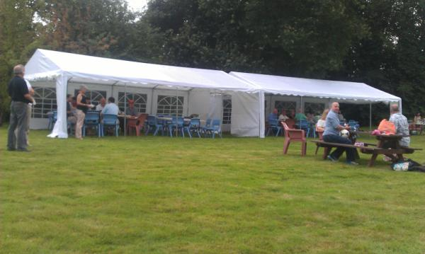 2013 Garden Party Tent and Stragglers