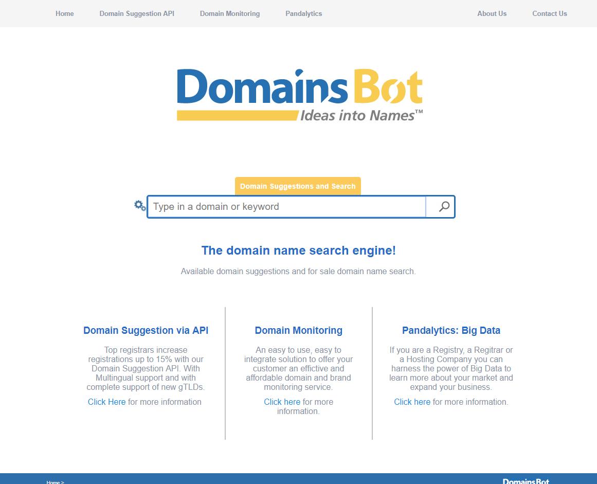 Domains Bot