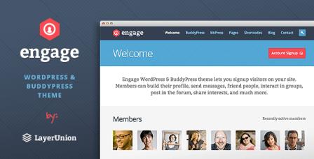 Engage Theme