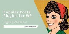 Best Popular Post Plugins for WordPress Bloggers 2019