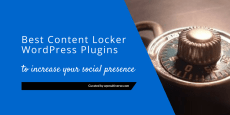 Best Social Content Locker WordPress Plugins 2019