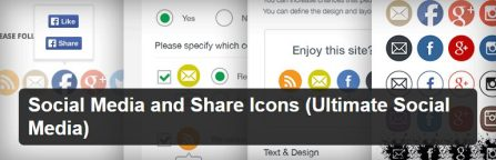 Social Media and Share Icons