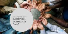 Best WordPress Community Plugins (2019 Compared)