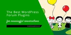 Best WordPress Forum Plugins for Meaningful Conversations 2019