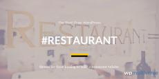 Best Free Restaurant WordPress Themes 2019