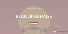 Best Free Landing Page WordPress Themes 2019