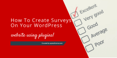 Best WordPress Survey Plugins 2019 (real-time updates)