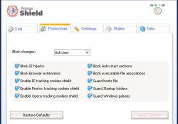 Arovax Shield Antispyware