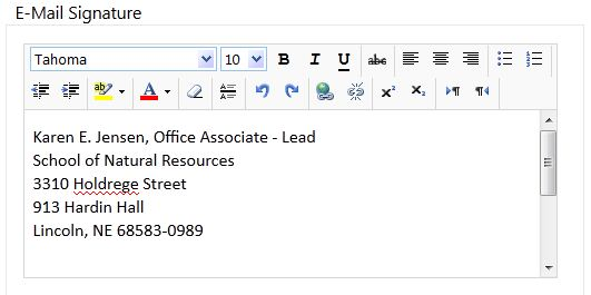 How to set Email Signatures in Webmail