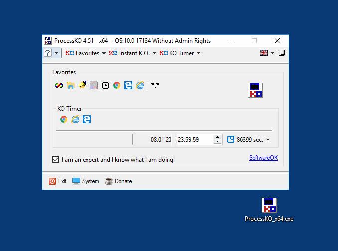 ProcessKO freeware
