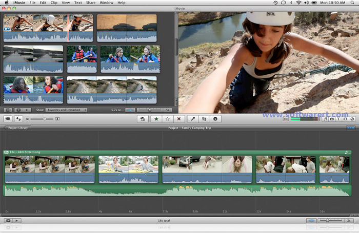 Basics of using iMovie to create films