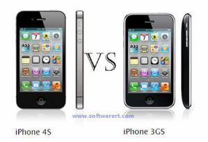 iPhone 4S and iPhone 3GS