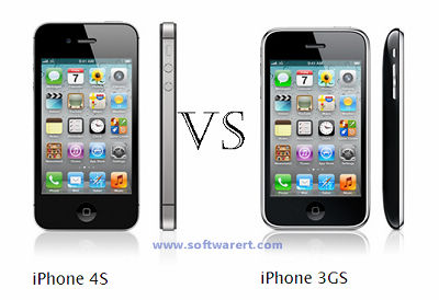 Compare iPhone 4S and iPhone 3GS