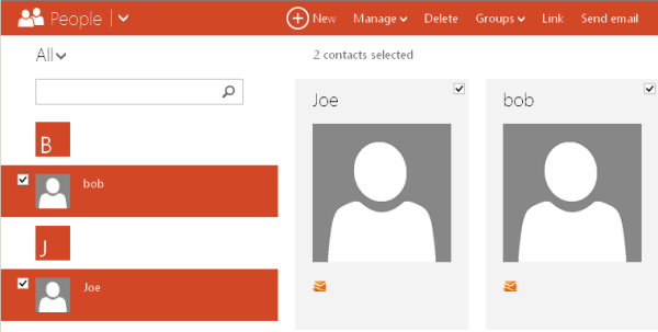 export and transfer hotmail contacts