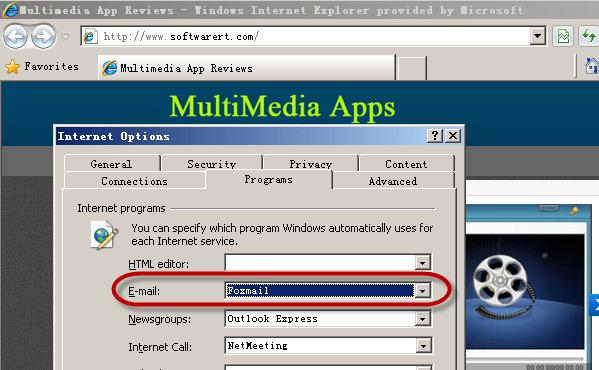 change default email client windows pc