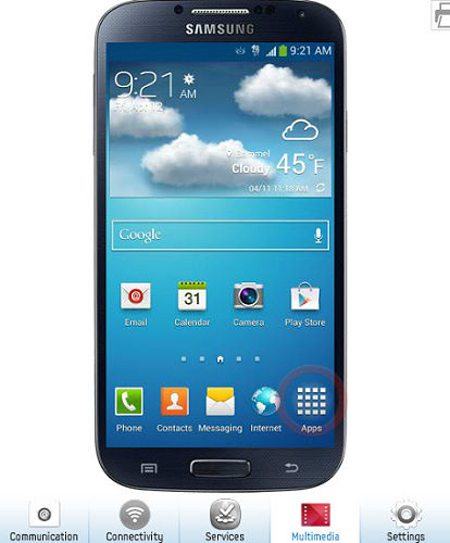 Try Samsung Galaxy S4 Online Before You Buy with Samsung Galaxy S4 simulator