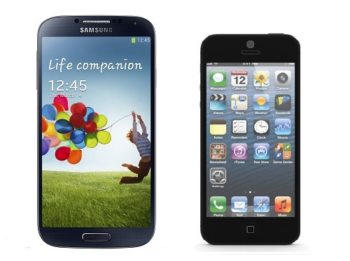 Samsung Galaxy S4 vs iPhone 5 comparison review