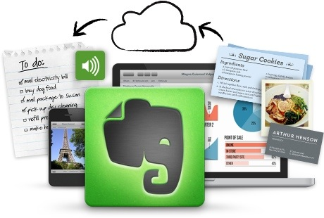 Save Photos from Evernote to iPhone