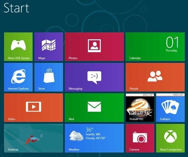 Change App Arrangement within a Group Windows 8