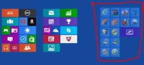 Change Arrangement of App Groups on Windows 8 PC