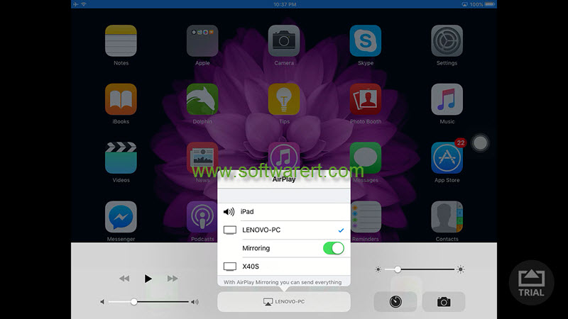 How to use AirServer to mirror screen from iPhone iPad to