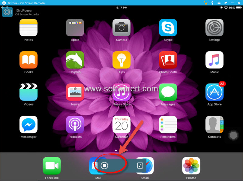 Record iPhone iPad iPod screen via AirPlay and iOS screen recorder