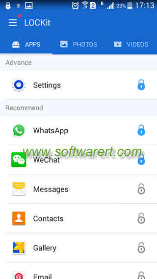 Lock Samsung phone Settings and apps