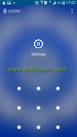 samsung android phone settings locked by lockit app