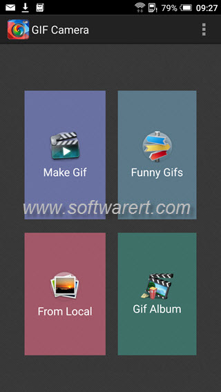 gif camera app - free GIF maker for android