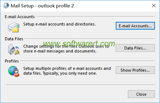 outlook mail setup on windows 10 pc
