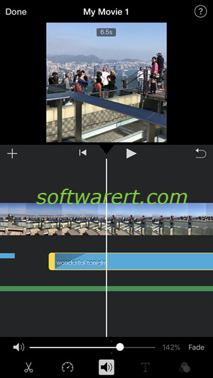 how to use imovie iphone app