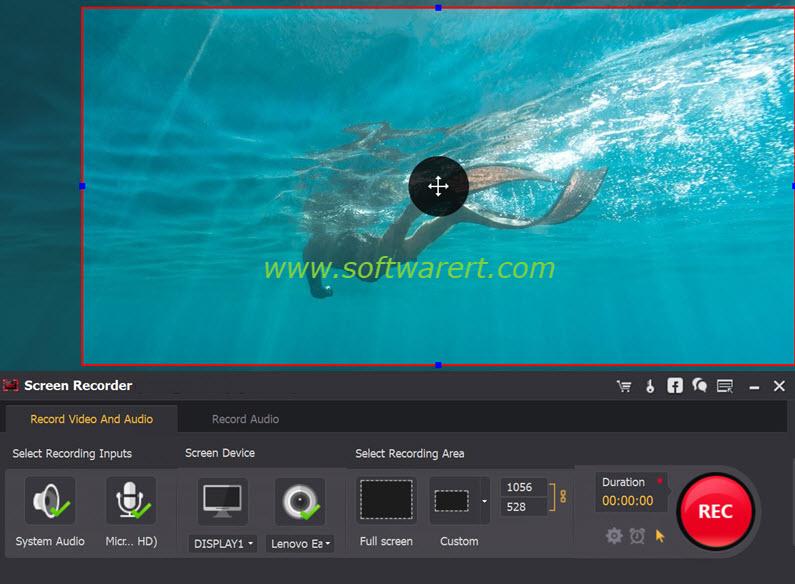 record screen videos on Windows pc