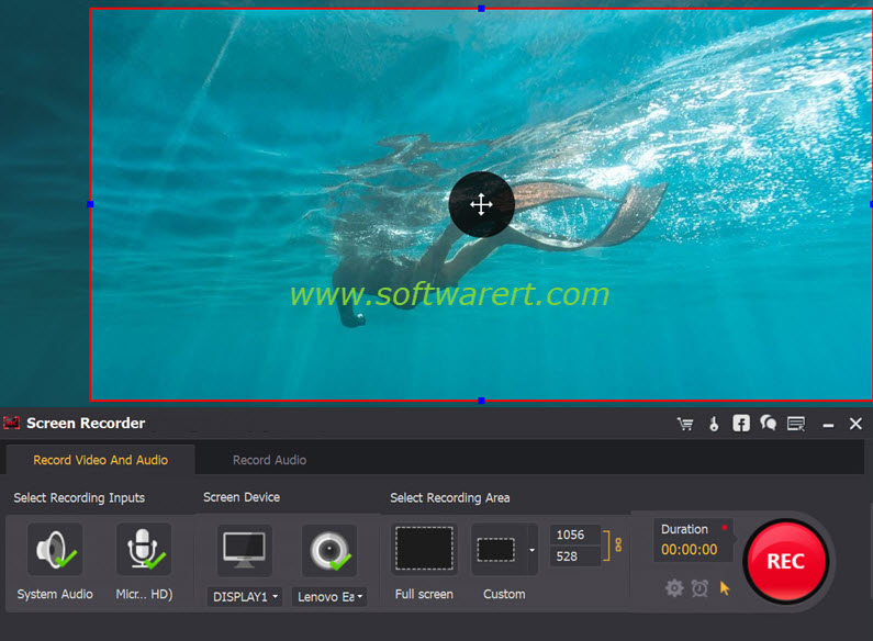 record screen videos on Windows pc