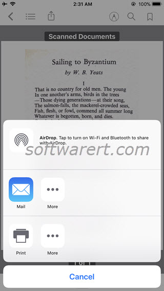 Iphone Wont Pdf From Email
