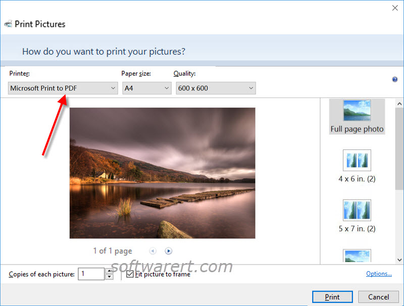 convert pdf to jpg on windows 10