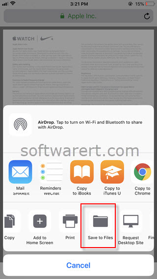 How To And Save Pdf Files On Iphone