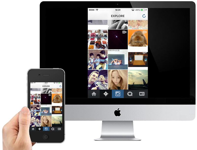mirror iphone to mac using x-mirage