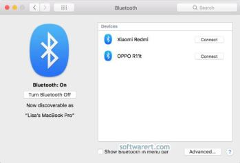 Transfer files between Xiaomi & Redmi and Mac via Bluetooth