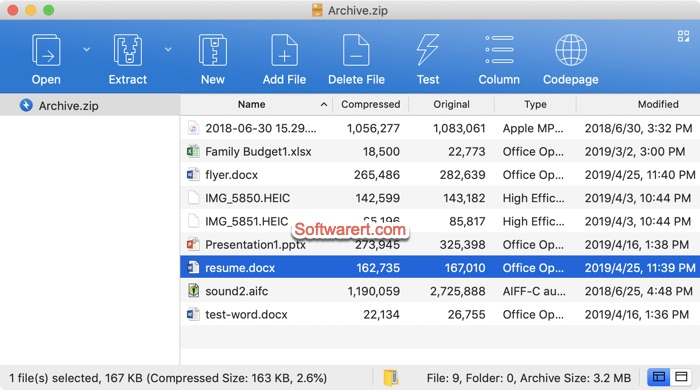 Bandizip Archiver for Mac